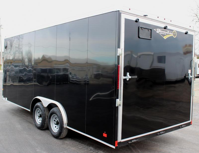 <b>Value Packed</b> 2020 20' Transport V Car Trailer w/Heavy Duty 5200# Axles & Screwless Exterior 7' Interior