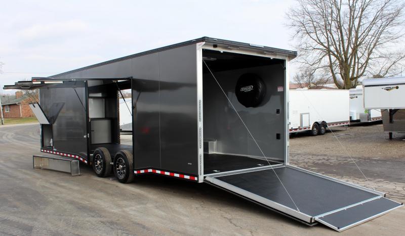 <b>SUPER NICE!</b> 2020 28' All Aluminum with Lrg. Escape Door w/Removable Wheel Box
