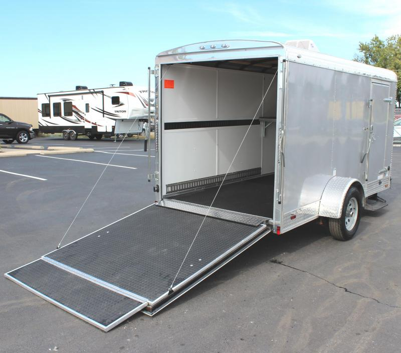 <b>Sale Pending</b>  2018 6'x12' Continental Cargo Tailwind Enclosed Cargo Trailer Little Trailer BIG OPTIONS!