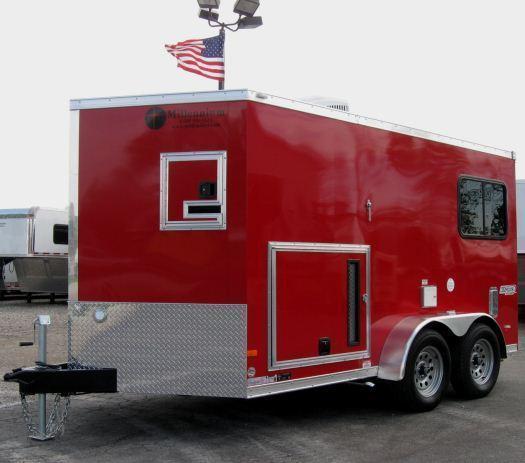 7'x12' Custom Star Splicing Enclosed Cargo Trailer
