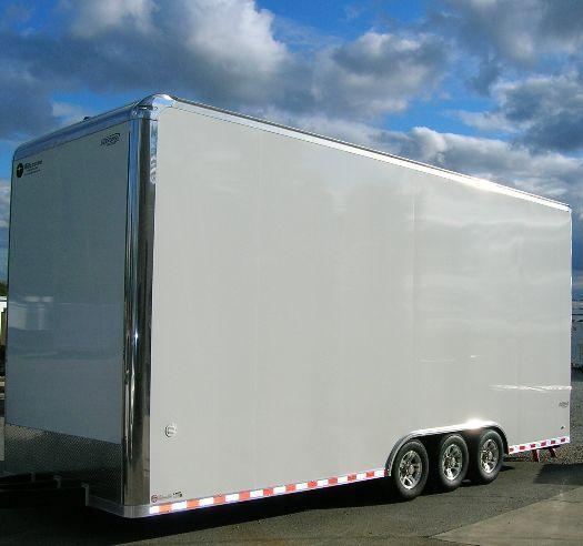 Millennium Trailers 26' Custom Icon Stacker Enclosed Race Car Trailer