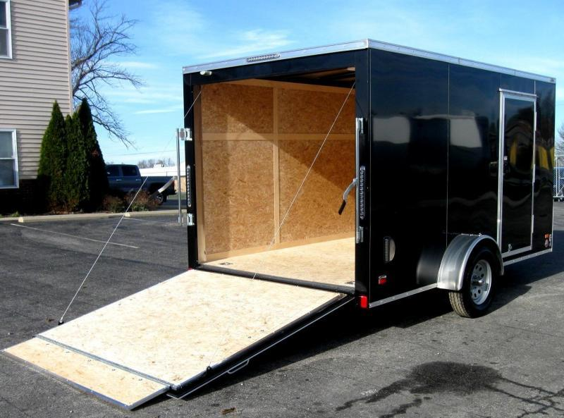 <b>CLEARANCE</b> 2019 7' x 12' Scout Enclosed Cargo w/Plus Pkg. Torsion Axle Upgrade w/Brakes