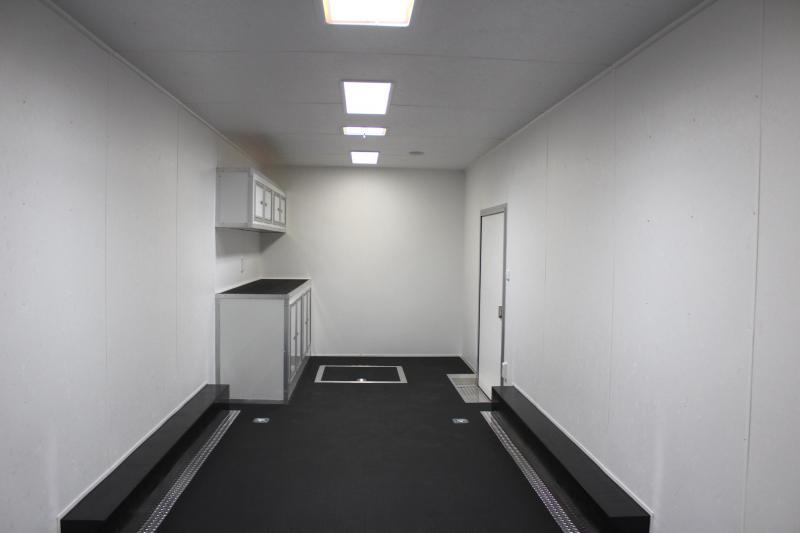 <b>Now Ready</b> 2019 48' Millennium Silver 12' Dinette Living Quarters Large Dry Bath