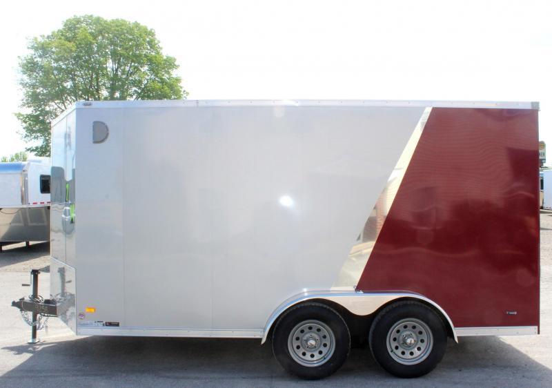<b>CLEARANCE</b>  2020 7'x14' Scout Enclosed Cargo Trailer with Ramp Door