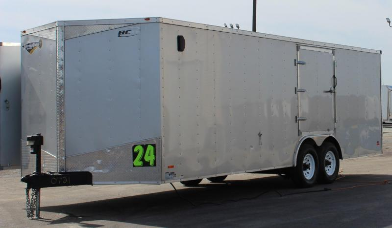 <b>Sale Pending</b> 2016 Pre-Owned 24' RC Race Trailer