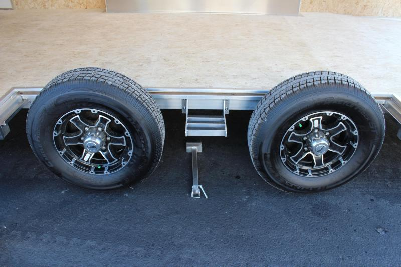 <b>Wide Car? Look at This!</b>  2020 22' Silver Aluminum Millennium Extreme Lite with Removable Fender