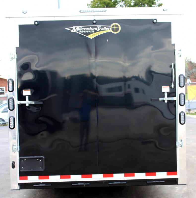 <b>Sale Pending</b>  2020 28' Millennium Auto Master Enclosed Trailer Toy Hauler w/Living Quarters
