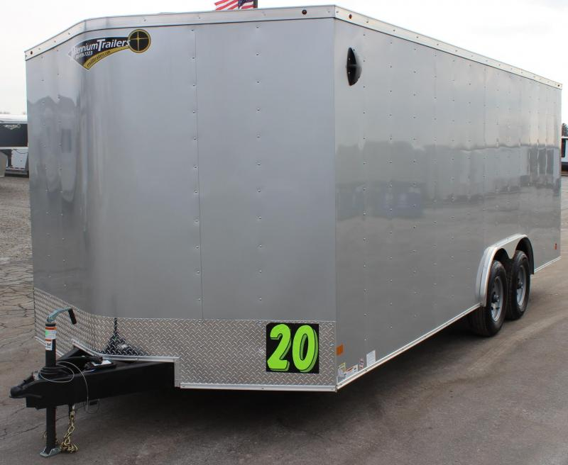 <b>Easy on the Wallet</b> 2020 20' Millennium Passport Enclosed Trailer w/Ramp Door