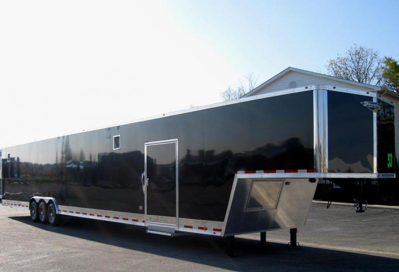 """READY SOON! ON ORDER 2020 53' Millennium Silver 90' Recessed E-track/ Hyd. Jack/12"""" Extra/ Alum Wheels/ 3/7K Axles ALL LED"""