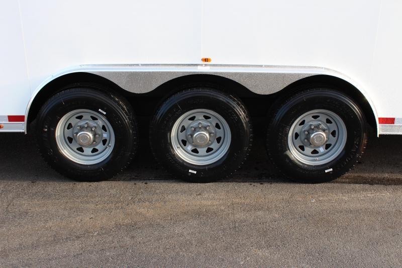 <b>PERFECT CAR HAULER 180' Recessed E-Track</b>  2020 53' Millennium  Gooseneck