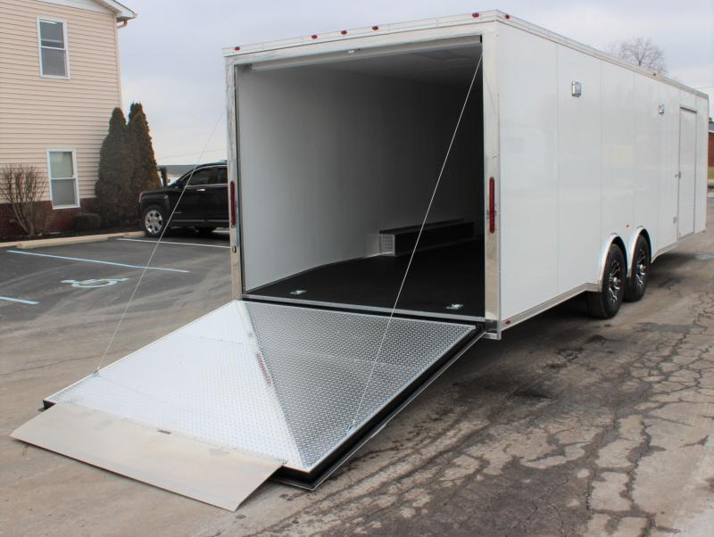 <b>Save $1000 on New Arrival</b>  2020 28' Millennium Platinum Racing Trailer