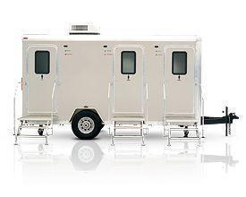 16' Custom Mobile Restroom Trailer