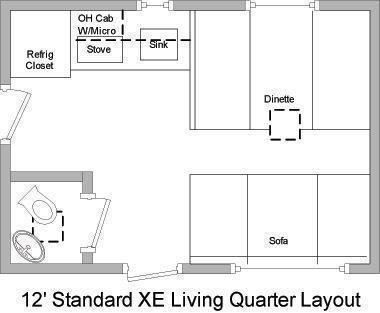"<b>DUE OUT 4/30 </b> 2020 Millennium 32' 12'XE Living Quarters  19' 6""  Cargo Area"