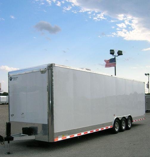 Custom 32' All Aluminum Trailer with Toilet & Shower