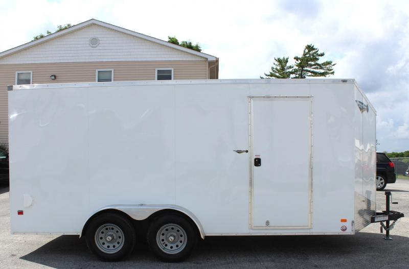 <b>CLEARANCE NOW $5639</b> 2020  7' x 16' Scout Screwless Cargo with Ramp Door FREE OPTIONS