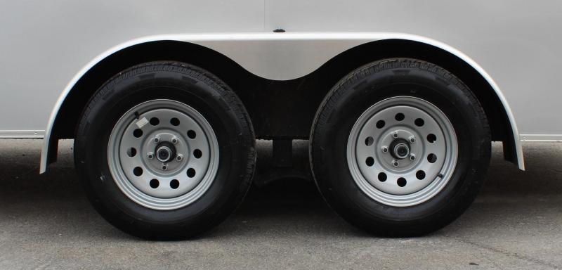<b>Now Available</b> 2020 7'x16' V-Nose Millennium Transport Cargo Trailer w/Ramp Door