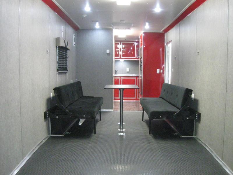 <b>NOW AVAILABLE</b> 26' Millennium Auto Master Enclosed Trailer Toy Hauler w/Living Quarters