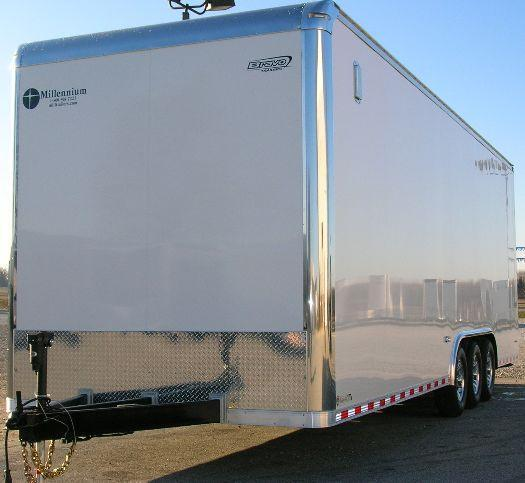 28' Icon Trailer w/Vertical E-Track & Freeze Curtains