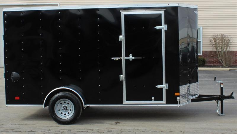 <b>Now Available</b>  2020 6'x12' V-Nose Millennium Passport Enclosed Cargo Trailer