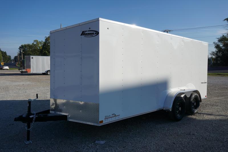 2020 Formula Trailers 7X16 TRAVERSE Enclosed Cargo Trailer