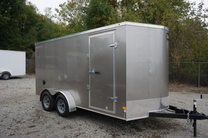2020 Wells Cargo 7X14 FTD Enclosed Cargo Trailer