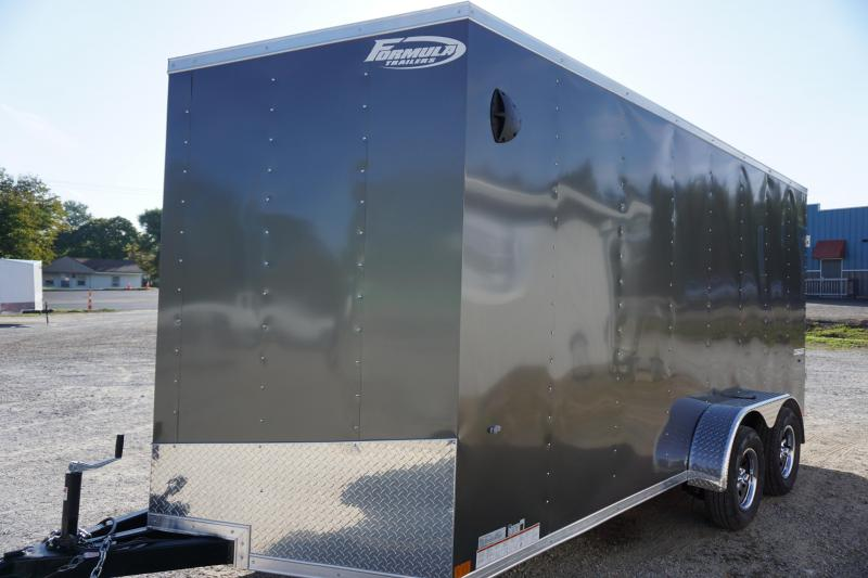 2020 Formula Trailers 7X16 CONQUEST Enclosed Cargo Trailer