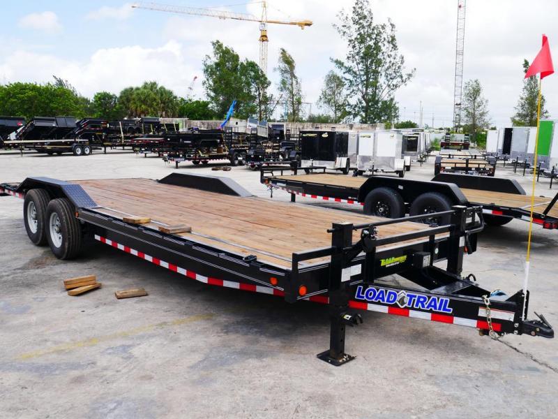 *105454* 8.5x24 Load Trail Car Hauler Trailer Drive Over Fenders 8.5 x 24 | CH102-24T7-DOF