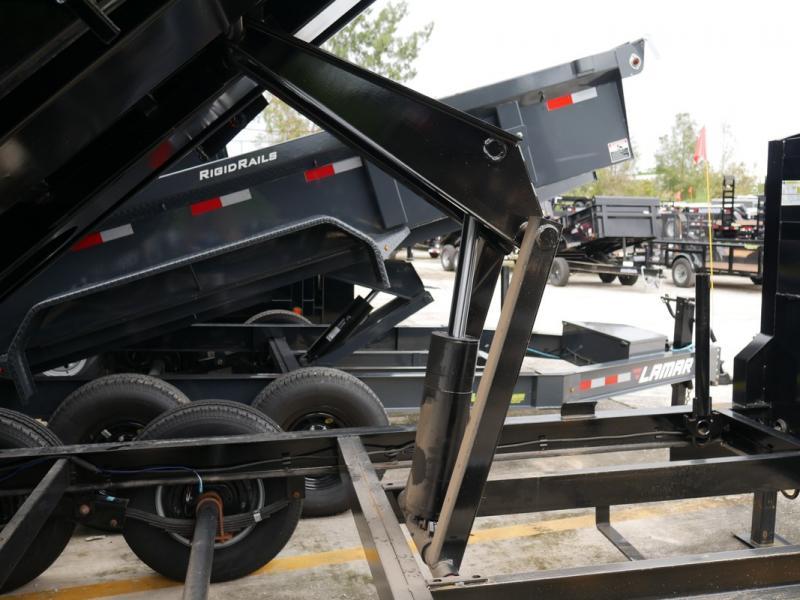 *107537* 7x14 Iron Bull Gooseneck Dump Trailer |Norstar Tandem Axle Trailers 7 x 14