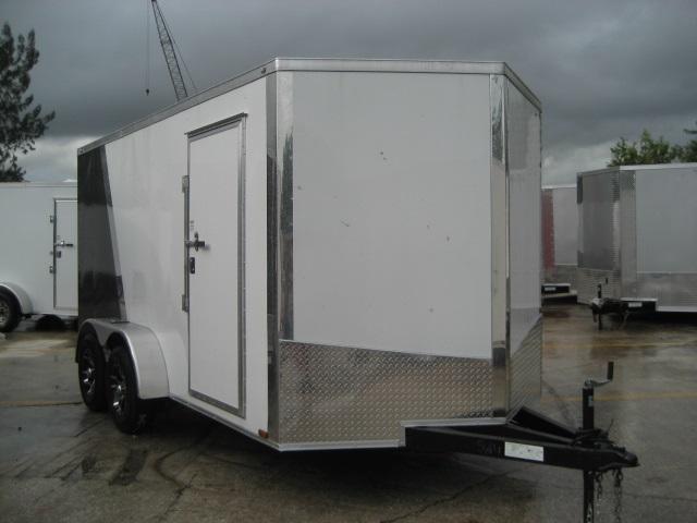 *E8C* 7x14 Car Haulers Enclosed Trailer Hauler Trailers 7 x 14 | EV7-14T3-R