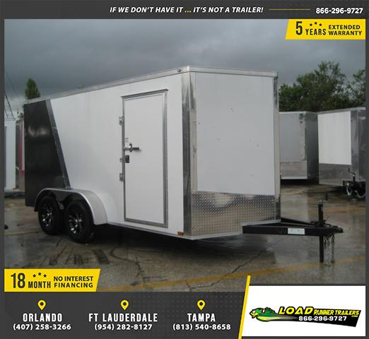 *E8C* 7x14 Car Haulers Enclosed Trailer Hauler Trailers 7 x 14 | EV7-14T3-R