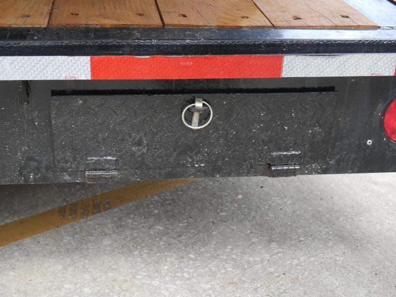 *CHG60* 8.5x40 10 TON Gooseneck Car Hauler Trailer |21K Trailers 8.5 x 40 | CHG102-40TT7-DOF
