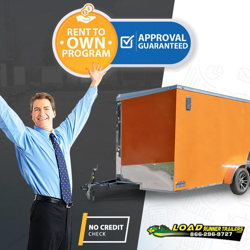 *RTO-CARGO* 7x14 ENCLOSED CARGO Trailer - NO CREDIT CHECK |Starting at 7 x 14