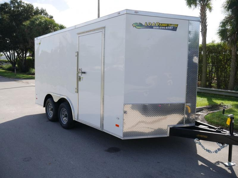 *108309* 8.5x14 Enclosed Cargo Trailer |LRT Tandem Axle Trailers 8.5 x 14