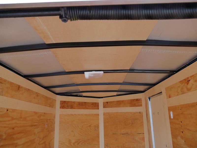 *E1-BB* 5x8 Enclosed  Trailer Cargo Trailers 5 x 8 | EV5-8S3-R