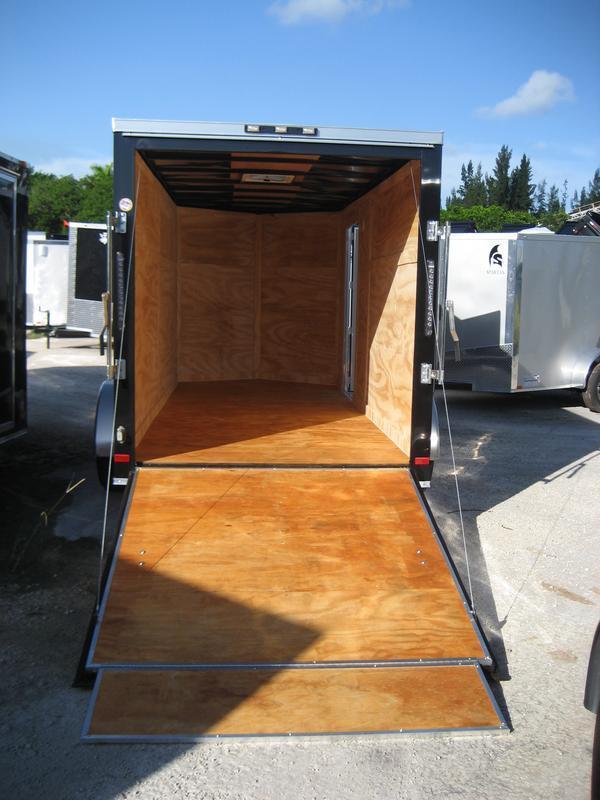 *E7* 6x14 Enclosed Trailer Cargo Tandem Axle Catering 6 x 14 | EV6-14T3-R