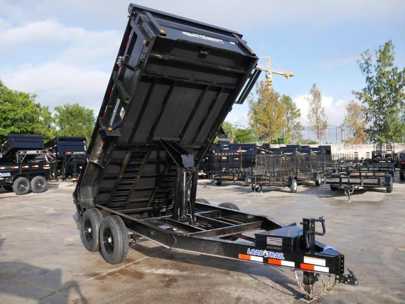 *108351* 7x14 LOAD TRAIL Dump Trailer |Tandem Axle Trailers 7 x 14