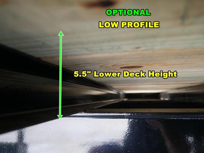 *FG13* 8.5x32 10 TON FLATBED GOOSENECK TRAILER |DECK OVER TRAILERS 8.5 x 32 | FG102-32T10-LP/FF