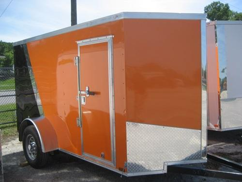 *E2* 5x10 Cargo Enclosed Trailer LR Catering Cargo 5 x 10 | EV5-10S3-DD