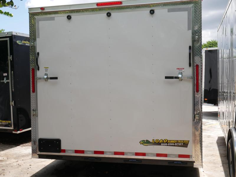 *E11D* 8.5x20 Enclosed Cargo Trailer With Electric Pkg & Air Conditioning 8.5 x 20 | EV8.5-20T5-R