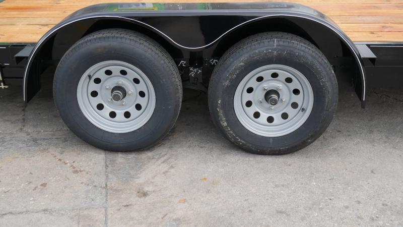*108651* 7x18 Car Trailer |LRT Tandem Axle Trailers 7 x 18