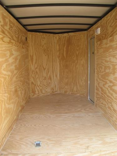 *E2* 5x10 Cargo Enclosed Trailer LR Catering Cargo 5 x 10 | EV5-10S3-DD