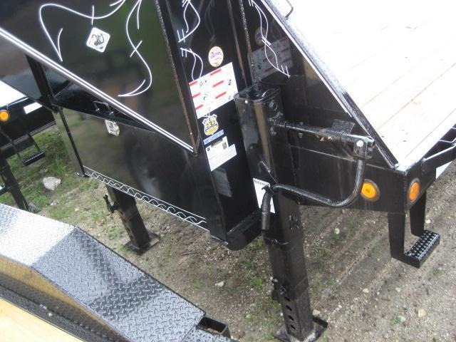 *FG58* 8.5x32 Flatbed Gooseneck Trailer |Deck Over Trailers 8.5 x 32 | FG102-32T10-FF
