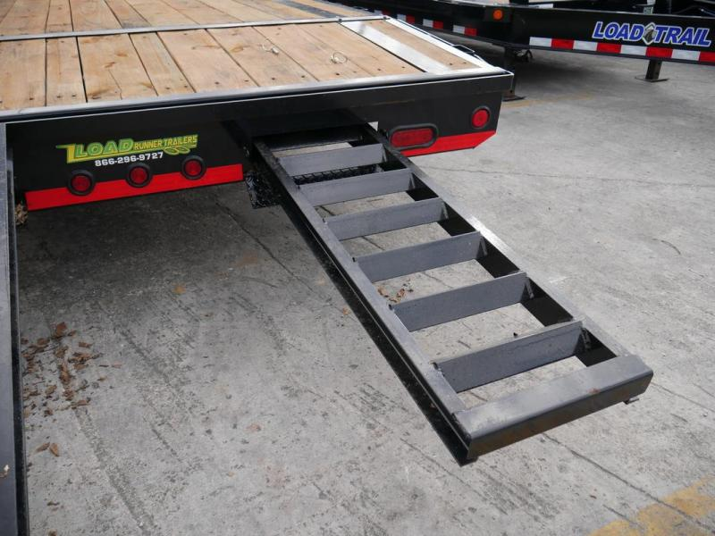 *107391* 8.5x36 Gooseneck Car Trailer |Drive Over Fenders | Load Trail Trailers 8.5 x 36