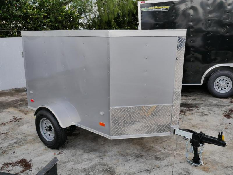 *107819* 4x6 Enclosed Cargo Trailer |LRT Haulers & Trailers 4 x 6
