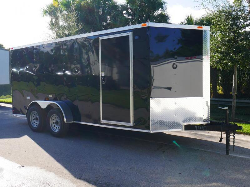 *FD09* 7x16 FACTORY DIRECT!| Enclosed Cargo Trailer |Trailers 7 x 16