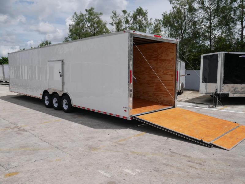 *EV36* 8.5x36 Enclosed Gooseneck Cargo Trailer |21K Car Trailers 8.5 x 36 | EV8.5-36TT5T-R