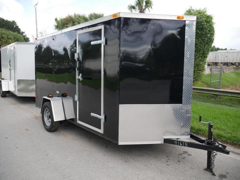 *108046* 6x12 Multipurpose Enclosed Cargo Trailer |LRT Haulers & Trailers 6 x 12 | EV6-12S3-R