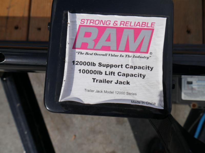 *105999* 7x22 Load Trail Car Trailer  LRT Tandem Axle Trailers 7 x 22
