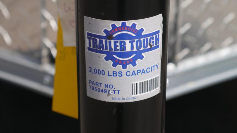 *108896* 6x12 Enclosed Cargo Trailer |LRT Tandem Axle Trailers 6 x 12