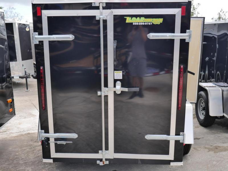 *E1-BBD* 5x8 Enclosed  Trailer Cargo Trailers 5 x 8   EV5-8S3-D